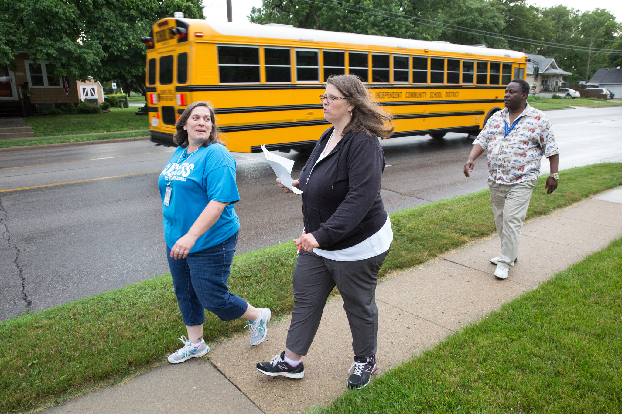 Scouting the Routes for Safe Walks to School